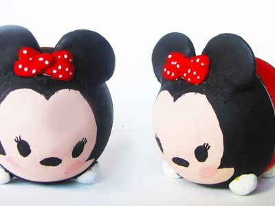 EOS MINNIE MOUSE TSUM TSUM DIY | KAWAII LIPPENBALSEM TUTORIAL