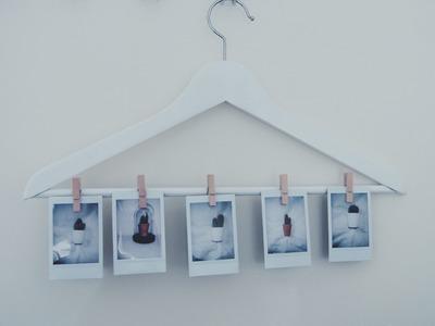 POLAROID DIY #2 FOTO'S OPHANGEN | Samantha van der Leest
