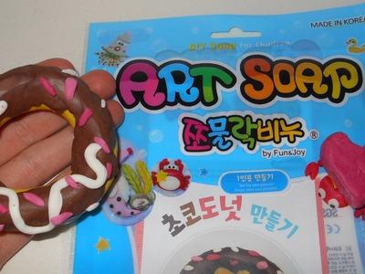 Diy, soap clay(choco donut)