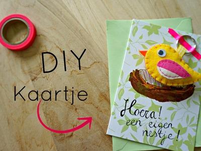Kaartje + Cadeautje DIY - Eigen huis