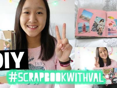 DIY #ScrapbookWithVal #4 SPRING
