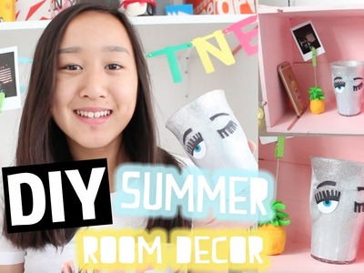 DIY Summer room decor | #Summercollab