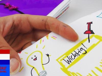 Agenda DIY-idee   Hoe kan je afspraken in de verf zetten? 7 kleine tekeningen voor in je agenda