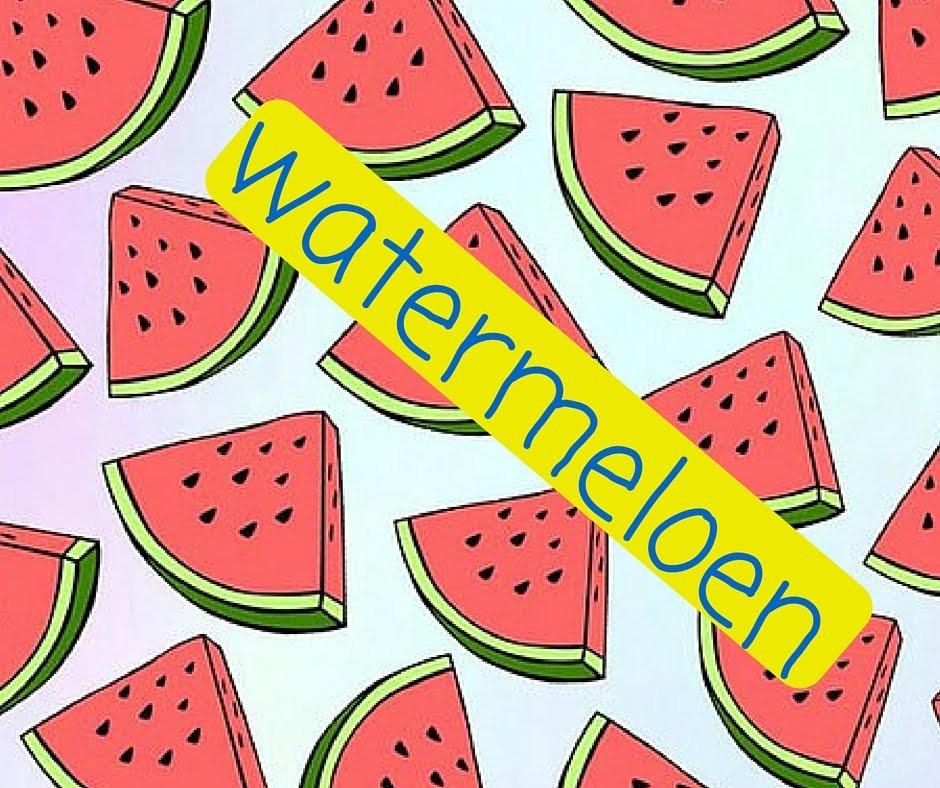 Strijkkralen watermeloen (DIY)  *KNUTSELGEKNL*