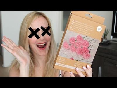 DIY GAAT FOUT!1!!! - Zeeman DIY papieren bloemen