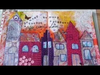 Art journaling DIY 3 - Always choose love