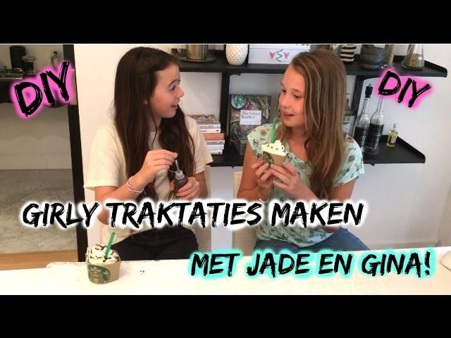 DIY Girly traktaties maken(met oa Starbucks frappuccino cupcakes,icecream cupcakes en cakepops!)