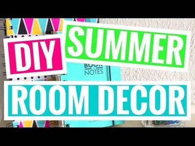 DIY SUMMER ROOM DECOR!! || Michelle