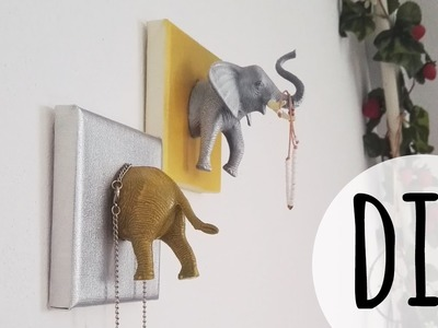 DIY animal canvas decoration | Lisa Heleen