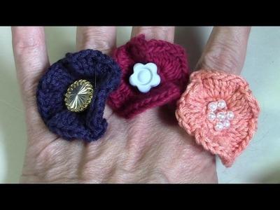 Haken - tutorial: Jolanda's Creaties - De bloemenring
