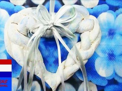 DIY hart van zoutdeeg als cadeau of decoratie voor je kamer | room decor tutorial