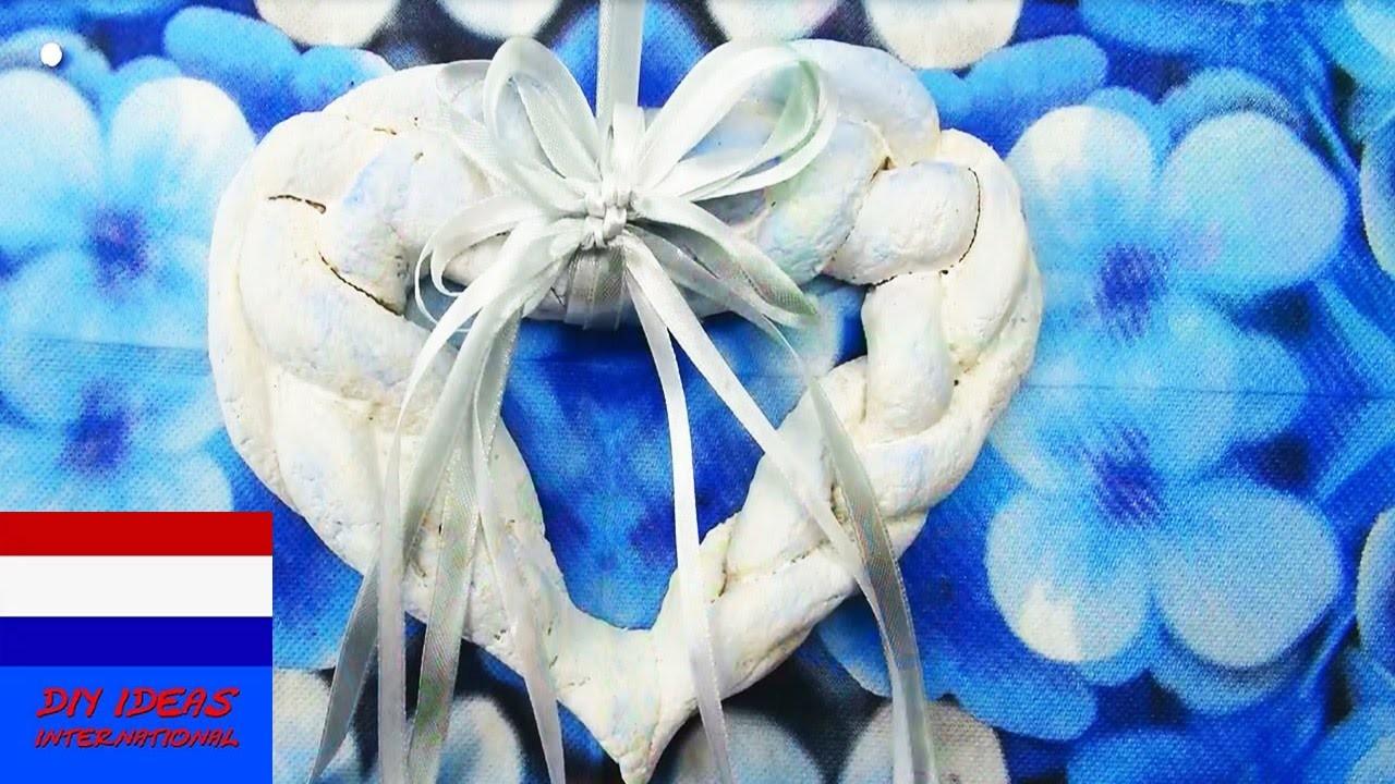 DIY hart van zoutdeeg als cadeau of decoratie voor je kamer   room decor tutorial
