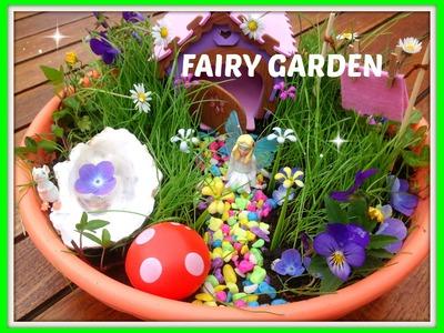 DIY: My Fairy Garden (Feeën-tuintje)