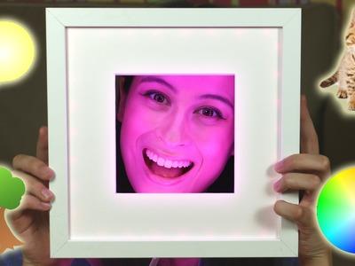 GAAF OPLICHTEND DIY FOTOLIJSTJE || MeisjeDjamila