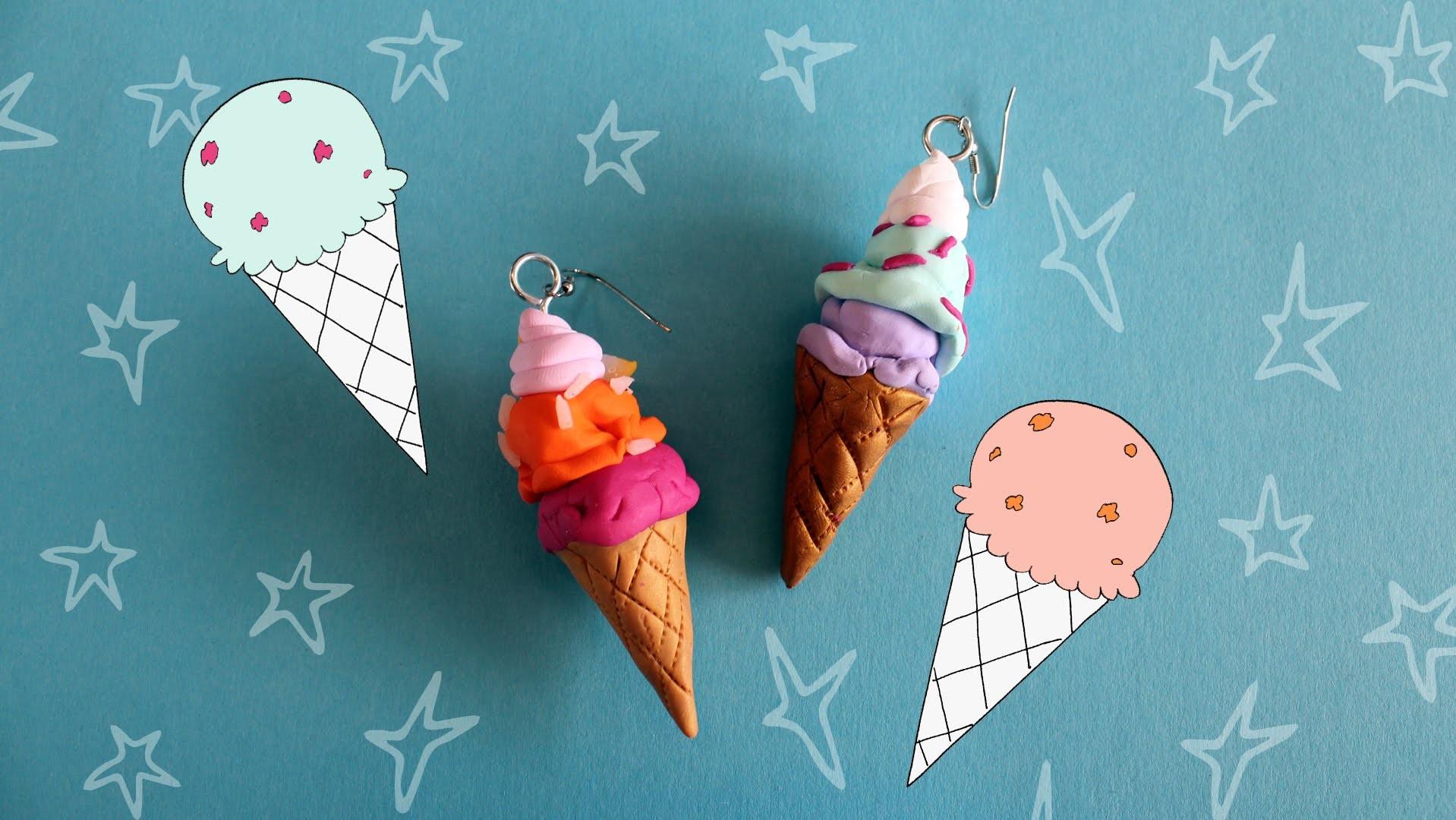 Jills Summer Sweets 12: Boetseer je eigen ijsjes-oorbellen!