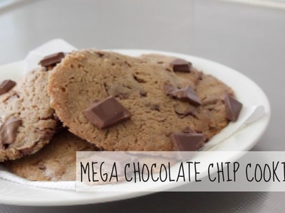 ♥MEGA CHOCOLATE CHIP COOKIE