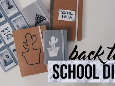 BACK TO SCHOOL DIY | Samantha van der Leest