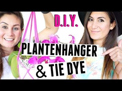 TIE DYE EN PLANTENHANGERS DIY + WINACTIE - RAINBOW MADNESS #3