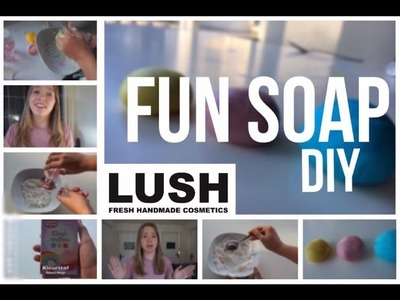 DIY LUSH FUN SOAP || Beau - tifull