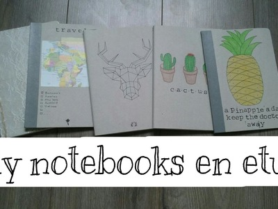 Diy notebooks en etui || 2016 ~ 2017