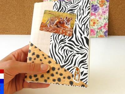 Reisdagboek knutselen | DIY diary & journal van briefpapier | vakantiedagboek bijhouden | zomer