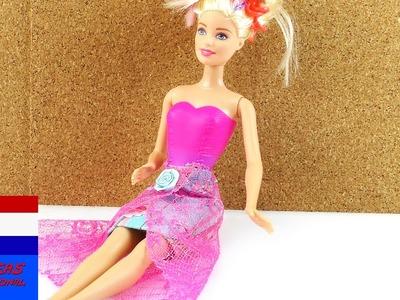 Zelf rok maken voor Barbie - DIY kleding voor poppen