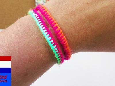 Zomerarmband | eenvoudig & snel zelf cool vriendschapsbandje maken | DIY-idee | geeft licht