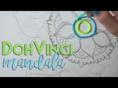 DIY mandala met DohVinci || Femkeeej