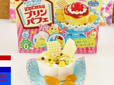 Kracie Popin' Cookin' DIY-set | pudding flan parfait | nieuw snoep uit Japan om zelf te maken