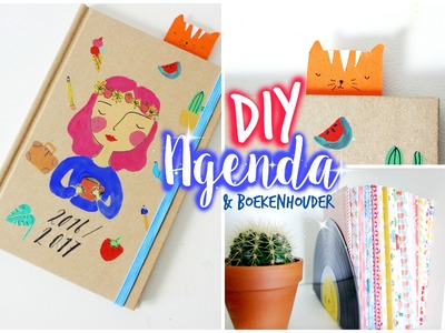 Back2school DIY agenda.diary!