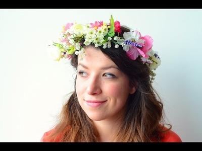 DIY: Flower Crown - Belmodo Blogger Delfien Debroux