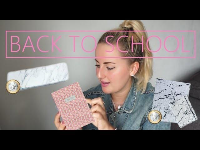 €1,- BACK TO SCHOOL | DIY + WINACTIE (GESLOTEN) | Tips & terugblikken | Charlotte Blitzblum