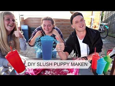 DIY SLUSH PUPPY MAKEN - Sander de Kort