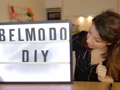 DIY: Lightbox - Belmodo Blogger Delfien Debroux