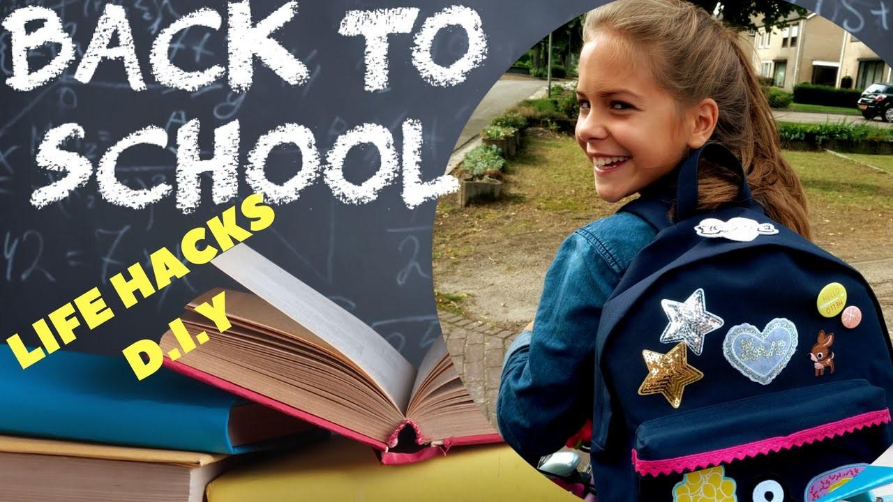 Back To School Life Hacks. D.I.Y | Emma Keuven
