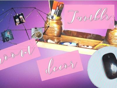 DIY Tumblr Inspired Room Decor.Organization