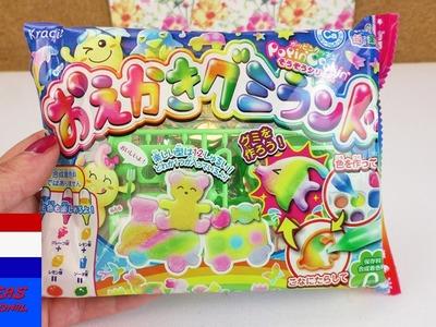 Kracie Popin' Cookin' grappige gummidieren | DIY candy set | leeuw & olifant | cadeau uit Japan