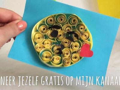 DIY LEUKE EMOJI KAART KNUTSELEN VAN PAPIER. Emoji card  (Nederlands)