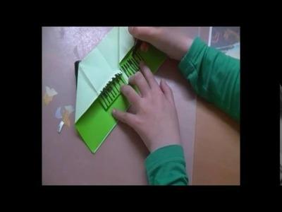 DIY origami piano