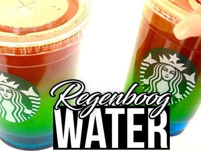 DIY Regenboog water