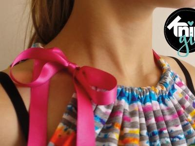 DIY haltertop | KNIPgirls Jasmijn