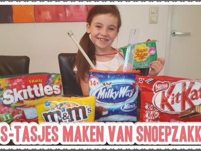 DIY - Zelf Snoep Rits-tasjes maken. knutselen van Snoepzakken (Nederlands)