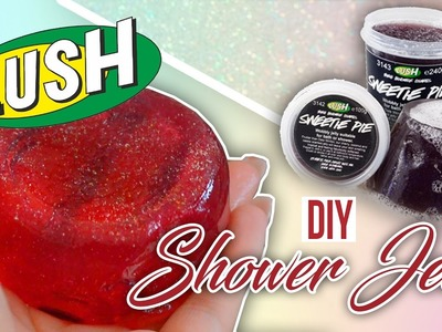 DIY Lush Shower Jelly☆ SAARtember