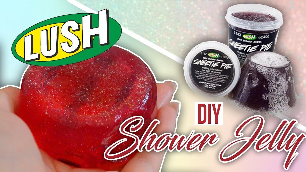 DIY Lush Shower Jelly☆ SAARtember