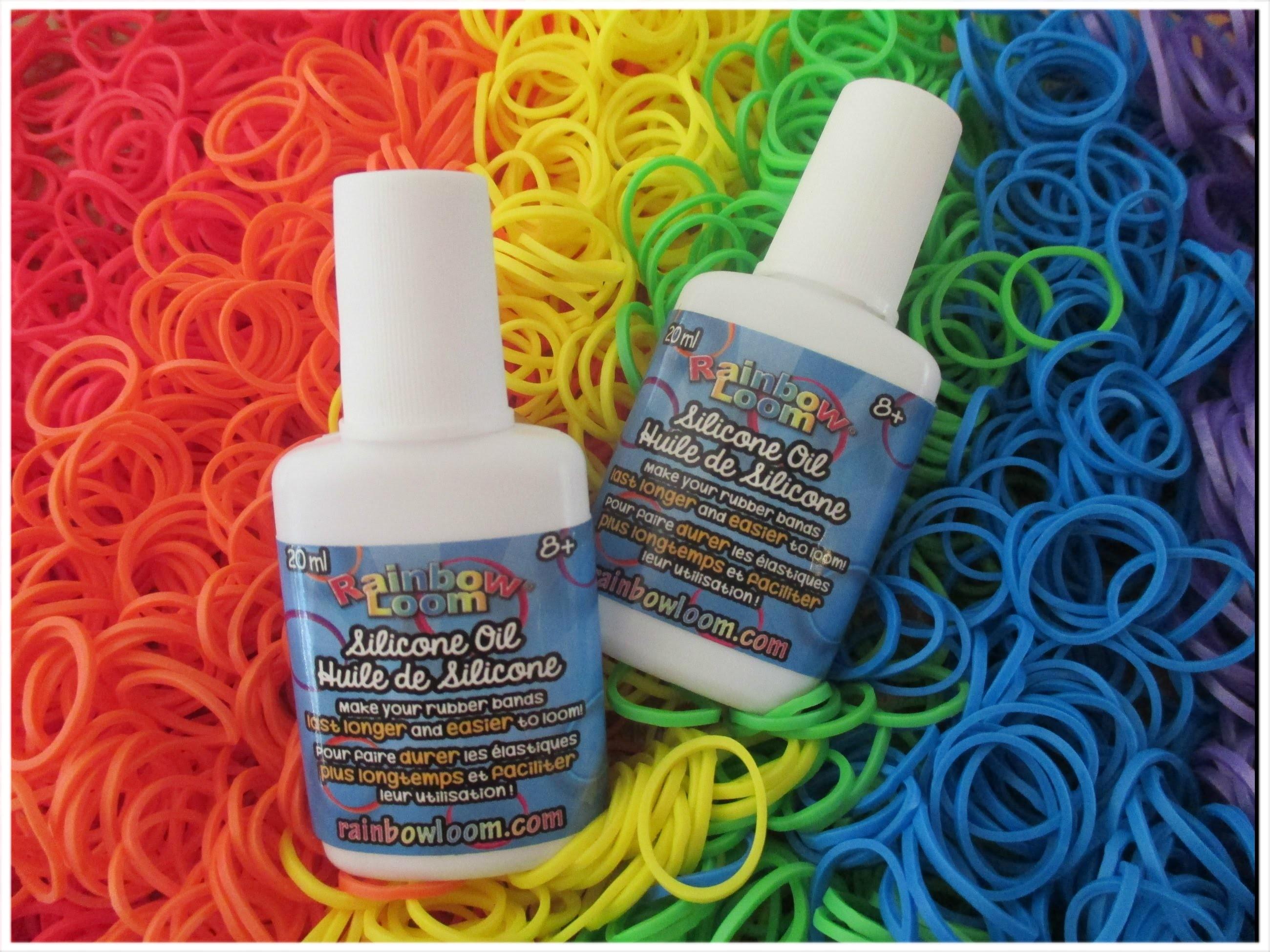 Review siliconenolie Rainbow Loom