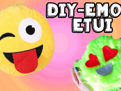 DIY EMOIJ ETUI NO SEW | Back To School