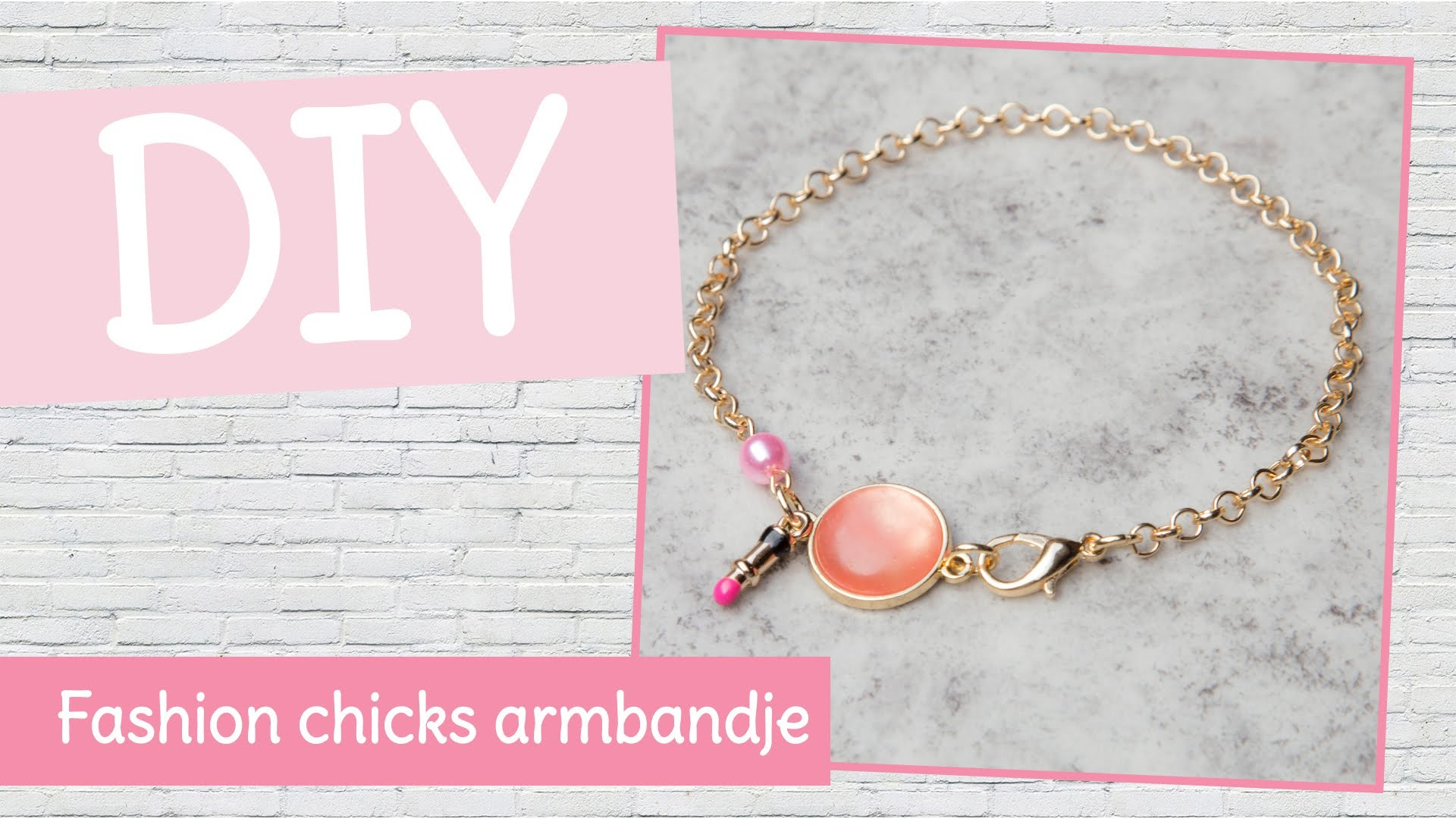 DIY sieraden maken met Kralenhoekje - fashion chicks armbandje