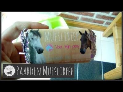 DIY: Paarden Mueslireep maken!