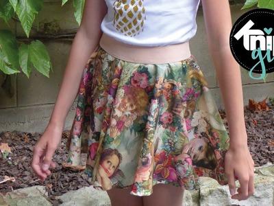 DIY: cirkelrok maken | KNIPgirls Maritt