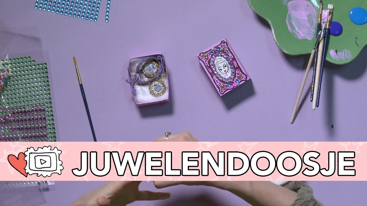 Jills Bonus DIY - Mini Juwelendoosje